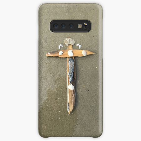 Beach Cross Samsung Galaxy Cases