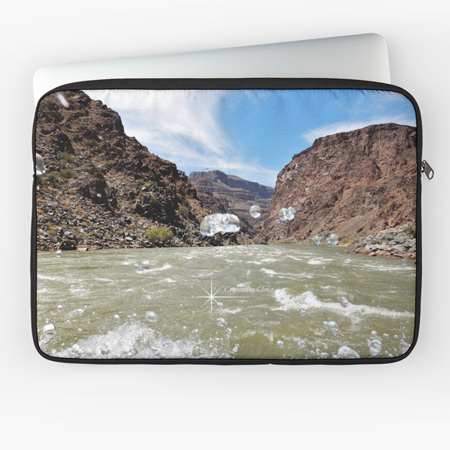 Grand Canyon Rafting Splash Laptop Sleeve